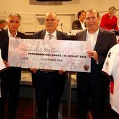 Attentat de Nice: 121.500 euros collectés par l'OGC Nice pour les familles