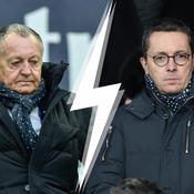 Aulas-Eyraud : une rivalité Lyon-Marseille à couteaux tirés