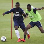 Aurier a repris l'entraînement discrètement avec les jeunes du PSG