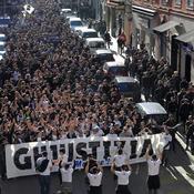 Bastia : des milliers de Corses défilent dans le calme pour le supporter blessé