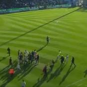 Bastia-Lyon : les images des agressions envers les joueurs lyonnais
