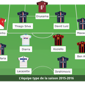 Ben Arfa, Diarra, Di Maria, Ibra : L'équipe-type de Ligue 1 a fière allure