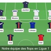 Ben Arfa, Evra, Ménez, Krychowiak : l'équipe des flops de la saison en Ligue 1