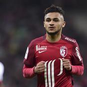 Mauvaise nouvelle pour Lille, Boufal forfait jusqu'à la fin de saison