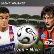Ben Arfa (Lyon)/Cyril Rool (Nice),