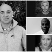 David Beckham, Carl Lewis, Andre Agassi : les stars du sport «sont Paris»