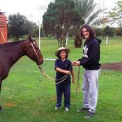 Edinson Cavani préfère les chevaux aux Ferrari
