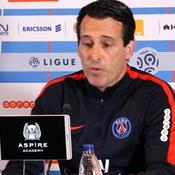 Emery : «La concurrence est bonne pour le PSG»