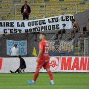 Homophobie: des banderoles hostiles aux instances dans les stades de L1 ce samedi
