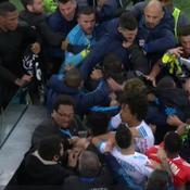 Marseille-Lyon se termine sur une bagarre générale