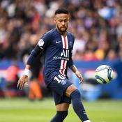 Neymar sous le maillot du PSG