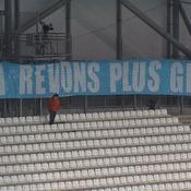 Les supporters de l'OM répondent aux Parisiens : «6-1 rêvons plus grand»