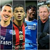 Zlatan Ibrahimovic, Hatem Ben Arfa, Michy Batshuayi, Rolland Courbis