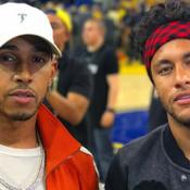 Lewis Hamilton et le président du Brésil à Paris pour l'anniversaire de Neymar