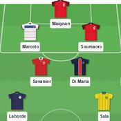 Ligue 1: notre équipe type de la 10e journée