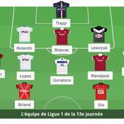 Ligue 1 : l'équipe type de la 13e journée