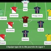 Ligue 1 : L'équipe-type de la 30e journée