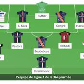 Ligue 1: L'équipe type de la 36e journée