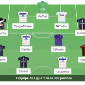 Ligue 1 : L'équipe type de la 37e journée