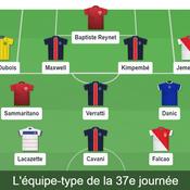 Auteur d'un doublé face à Lille, l'attaquant Colombien Radamel Falcao figure une fois de plus dans l'équipe-type Ligue 1 de notre rédaction