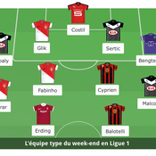 Ligue 1 : l'équipe type de la 4e journée