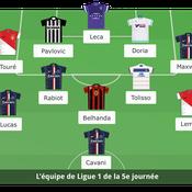 Equipe-type de la cinquième journée de Ligue 1