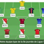 Ligue 1 : Lafont, Martins, Slimani... Notre équipe-type de la 8e journée