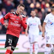 La Ligue 2 se rapproche pour Guingamp, muet contre Caen