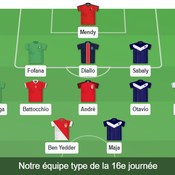 Ligue 1 : Maja et Battocchio en feu, Diallo solide… notre équipe type de la 16e journée