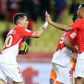 Monaco enfonce Lille et met l'OM à sept points