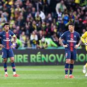 Très diminué, le PSG tombe à Nantes et attendra encore pour le titre