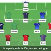 Ligue 1 : notre équipe-type de la 15e journée