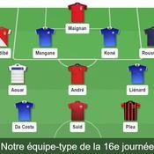 Ligue 1 : notre équipe-type de la 16e journée