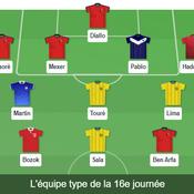 Ligue 1: notre équipe type de la 16e journée