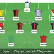 Ligue 1 : notre équipe-type de la 28e journée