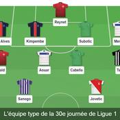 Ligue 1 : notre équipe-type de la 30e journée