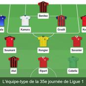 Equipe-type 35e journée de Ligue 1