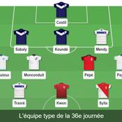 Ligue 1 : notre équipe type de la 36e journée