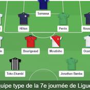 Ligue 1 : Notre équipe-type de la 7e journée