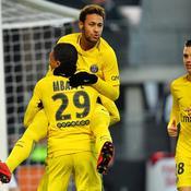 Neymar et le Paris SG régalent à Rennes