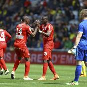 Montpellier se réveille et enfonce Nantes