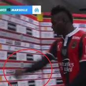 Nice-Marseille : le coup de sang de Mario Balotelli à la mi-temps