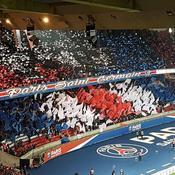 PSG-Nice : Le «tifo» du Parc des Princes moqué sur les réseaux sociaux