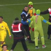Rennes-PSG : quand les Tortues Ninja viennent saluer Mbappé