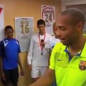 Quand Thierry Henry recadrait des jeunes de Monaco