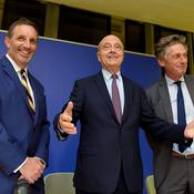 Joseph DaGrosa, Alain Juppé et Nicolas de Tavernost