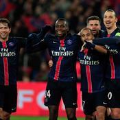 Maxwell, Blaise Matuidi, Lucas, Thiago Motta et Zlatan Ibrahimovic