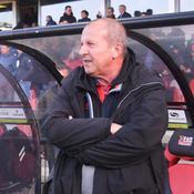 Rolland Courbis, entraîneur du Stade Malherbe de Caen