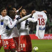Saint-Etienne-Lyon: le geste de Fekir qui a mis le feu au poudre