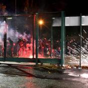 Saint-Etienne-Monaco : des incidents en marge de la déroute